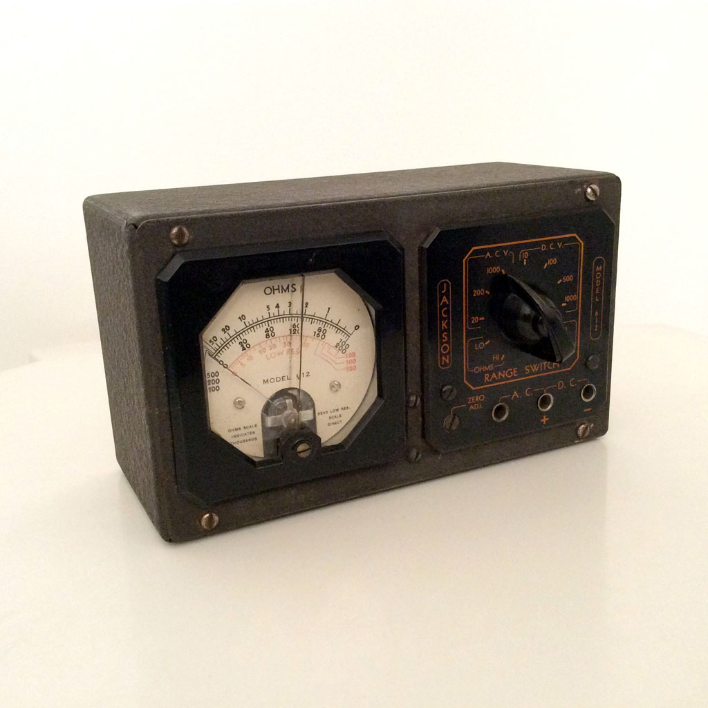 Jackson 612<br />Vintage Analog Multimeter : Figure 101 :
