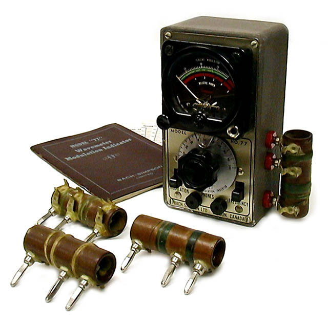 Bach-Simpson 77 (1948)<br />Absorption Wavemeter-Modulation Indicator : Figure 55 :