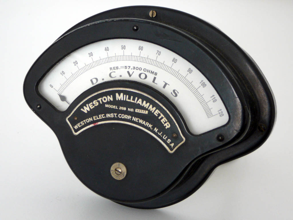 Weston Elec. Inst. Corp. 269<br />Vintage Panel Meter : Figure 103 :