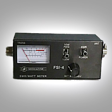 Monacor FSI-4<br />SWR, Power, Field Strength Meter. Maximum RF power of 100W. Frequency range of 1.5 - 150MHz. : Figure 41 :