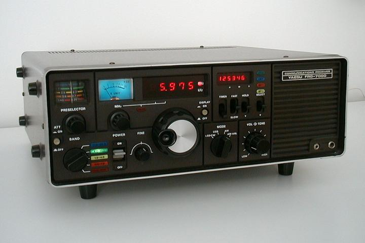 Yaesu Musen Co. Ltd. FRG-7000 (1980)<br />Similar my other  receiver covering 250kHz-29.999MHz. Though this one is modified with narrow AM filters and a different front end RF  transistor. Will change the lamps to LED. (black controls) : Figure 5 :