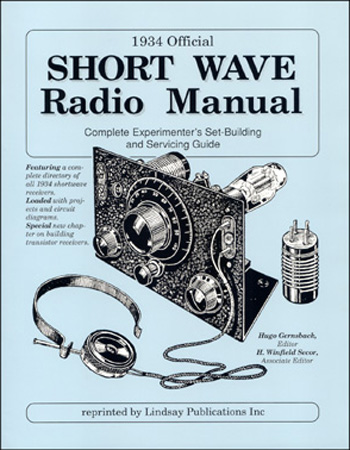1934 Official Short Wave Radio Manual