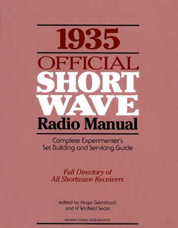 1935  Official Short Wave Radio Manual