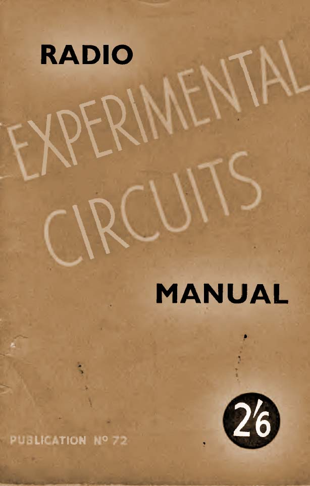 Radio Experimental Circuits Manual