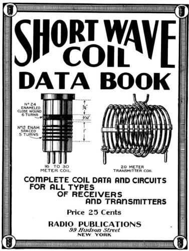 Shortwave Coil Data Book