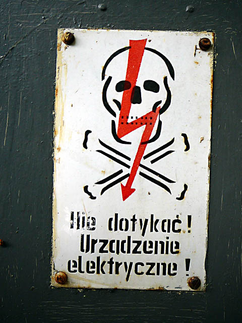 Don't Touch - Electric Apparatus